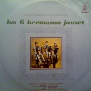 Música regional española en acordeones - Hispavox 1970
