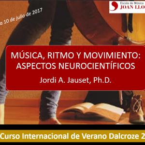 47º Curso Internacional de Verano Dalcroze (Barcelona)