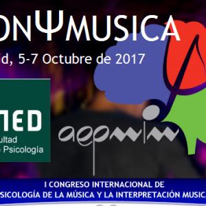 I Congreso Internacional Psicología de la Música e Interpretación Musical (Madrid)