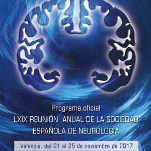 Ponencia en la Reunión Anual de la Sociedad Española de Neurología (Valencia)
